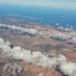 Fly over lanzarote 11185 — Stock Video