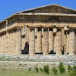 Stock Photo: Paestum Temple #9
