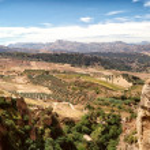 Ronda Landscape — Stock Photo