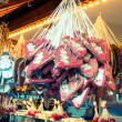 Xmas Market at Potsdamer Platz - Berlin - Stock Photo