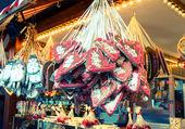 Xmas Market at Potsdamer Platz - Berlin — Stock Photo