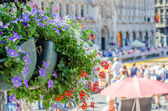 Floreal Decoration - Grand Place - Bruxelles — Stock Photo