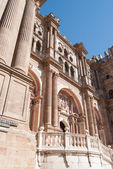 Malaga Cathedral Front View — Stock Photo