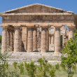 Paestum Temples - Stock Photo