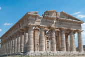 Paestum Temples — Stock Photo