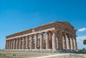 Paestum Temples — Stock Photo