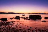 Sunset at the beach — Stock Photo