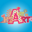 Art in Heart - Stock Photo