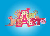 Art in Heart — Stock Photo