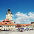 Brasov Council Square — Stock Photo
