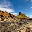 Stock Photo: Lindisfarne Castle