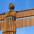 Foto de Stock  : Angel Of North Torso