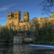 Stock Photo: Durham Cathedral in Autumn.