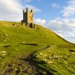 Dunstanburgh Castle, Northumberland — Stock Photo
