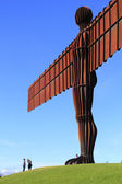Lookin Up,Angel Of the North — Stock Photo