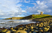 Dunstanburgh Headland — Stock Photo