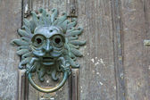 Sanctuary Knocker — Stock Photo