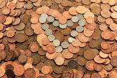 I love money — Stock Photo