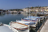 Cassis harbour — Stock Photo