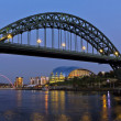 Stock Photo: Newcastle Bridge and Quayside