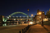 Newcastle quayside — Stock Photo