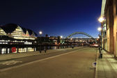 Newcastle quayside2 — Stock Photo