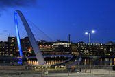 Millennium Bridge,Newcastle — Stock Photo