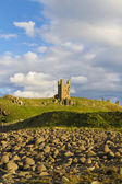 Dunstanburgh Castle — Stock Photo