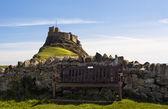 Lindisfarne Castle — Stock Photo