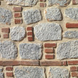 Stock Photo: Stone and brick wall background