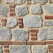 Royalty-Free Stock Photo: Stone and brick wall background