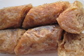 Baklava, traditional middle east sweet dessert — Stock Photo