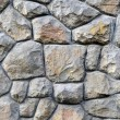 Stock Photo: Irregular stone wall background