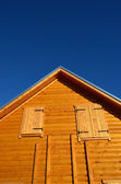 Wooden house — Foto de Stock