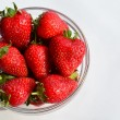 Foto Stock: Strawberries in sunlight