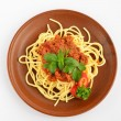 Stock Photo: Spaghetti Bolognese 1