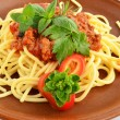 Spaghetti Bolognese 5 — Stock Photo