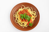 Spaghetti Bolognese 1 — Stock Photo