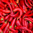 Red, hot peppers — Stock Photo