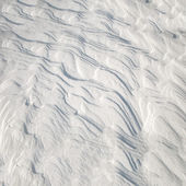 Frozen snow pattern — Stock Photo
