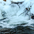 Stock Photo: Choppy waters and ice