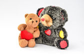 Two hugging Teddy Bears — Foto de Stock