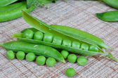 Peas in a pod — Foto de Stock