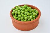Shelled peas — Stock Photo