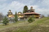 Klasztor najświętszej dziewicy! w miejscowości resilovo — Zdjęcie stockowe