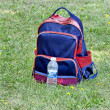 Stock Photo: Rucksack of garden worker