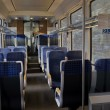 Inside of passenger carriage — Stock Photo