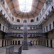 Stock Photo: Cell rows at Kilmainham Gaol, Dublin, Ireland