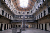Cell rows at Kilmainham Gaol, Dublin, Ireland — Stock Photo