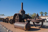 Steam machine at Death Valley National Park, California — Stock Photo